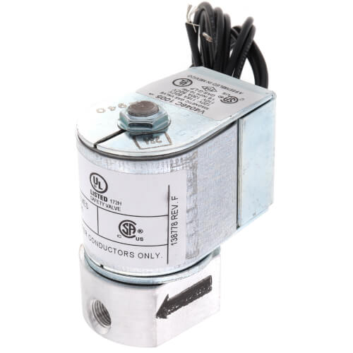 "1/8"" NPT Solenoid Pilot Gas Valve Product Image"