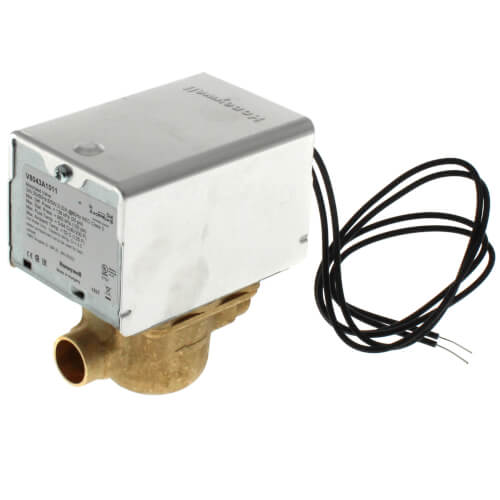 """1/2"""" Sweat Zone Valve (18"""" Leads, No End Switch) Product Image"""
