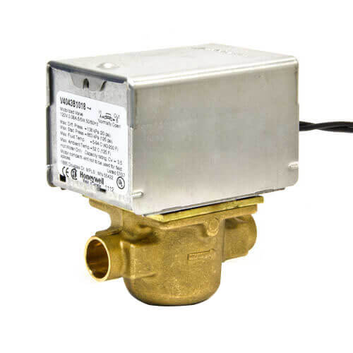 """1"""" Sweat Connection Zone Valve, normally closed (24v) Product Image"""