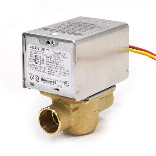v8043e1061 honeywell v8043e1061 3 4 sweat connection zone valve rh supplyhouse com HVAC Wiring Diagrams 3-Way Switch Wiring Diagram