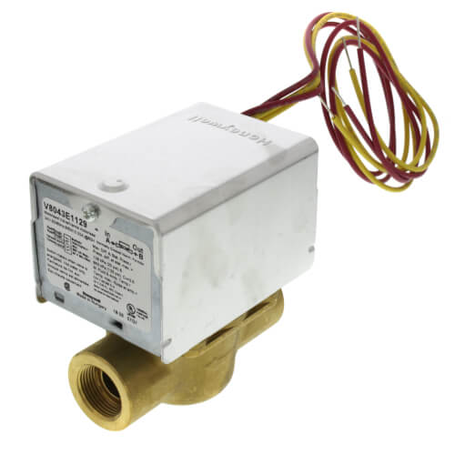 """1/2"""" Inverted Flare Connection Zone Valve, normally closed, 3.5 Cv (24v) Product Image"""