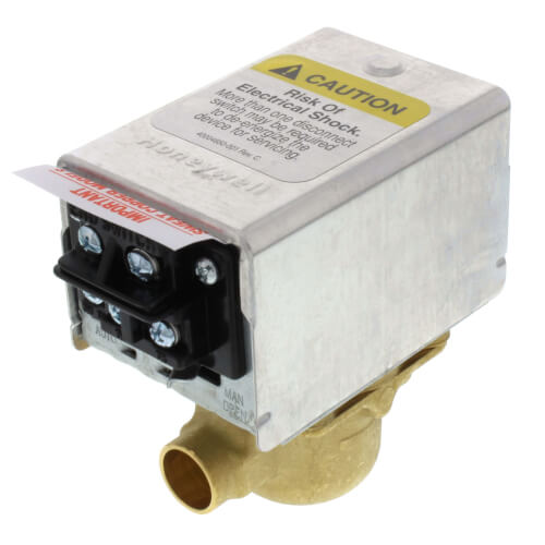 "1/2"" Sweat Zone Valve (Connection = Terminal Block) Product Image"