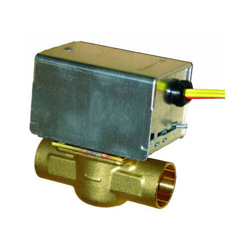 "1/2"" Sweat Zone Valve, N/C w/ 18"" Leads Product Image"