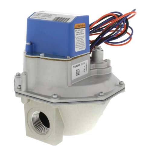 V8943B1028 1-1//4 inch Diaphragm Gas Valve 24 Vac Honeywell Inc