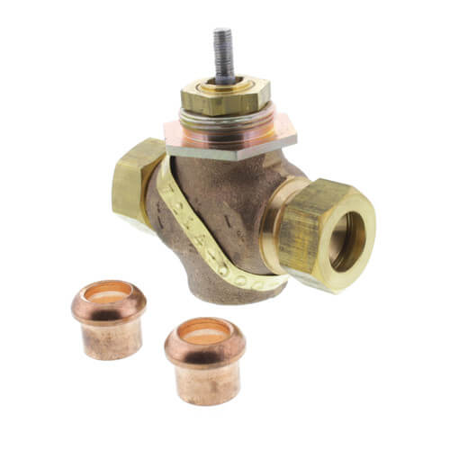 "1/2"" Union Sweat 2-Way Valve Product Image"