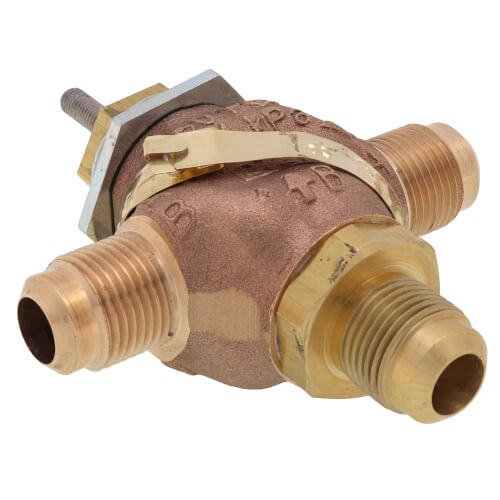 "5/8"" O.D. Flare 3-Way Mixing Valve (4.4 Cv) Product Image"