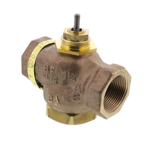 "1-1/4"" NPT 3-Way Mixing Valve (20 cv) Product Image"