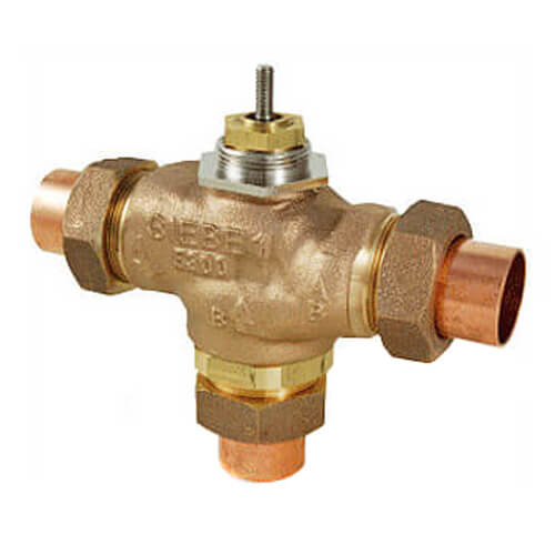 "1"" Union Sweat 3-Way Mixing Valve (14 cv) Product Image"
