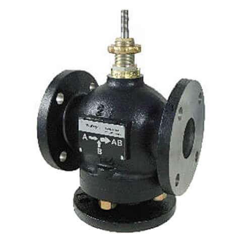 "3"" Flanged Cast Iron Mixing Valve (101 cv) Product Image"