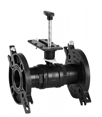 """3"""" 2-Way Flanged Globe Valve, Water or Glycol (100 Cv) Product Image"""