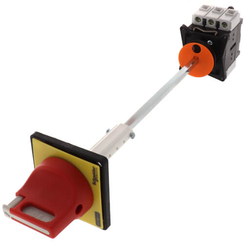 TeSys Vario Emergency Stop Switch Disconnect, 40A, Back of Enclosure Product Image
