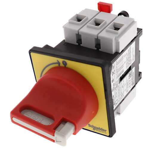 TeSys Vario Emergency Stop Switch Disconnect, 32A, On Door Product Image