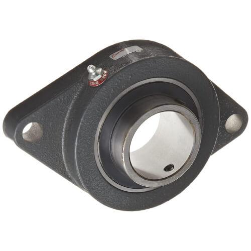 "1"" Normal Duty 2-Bolt Flange Bearing w/ Setscrew Lock Product Image"