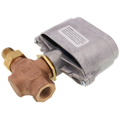 "1/2"" Normally Open Union Valve, 8-13 PSI (1.3 cv) Product Image"