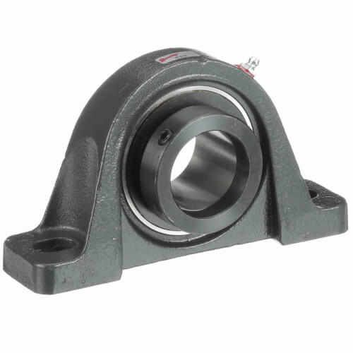 """1-15/16"""" Normal Duty 2-Bolt Low Base Pillow Block w/ Eccentric Lock Product Image"""
