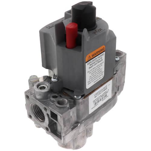 "Standard Dual Standing Pilot Gas Valve - 1/2"" x 3/4"" Product Image"