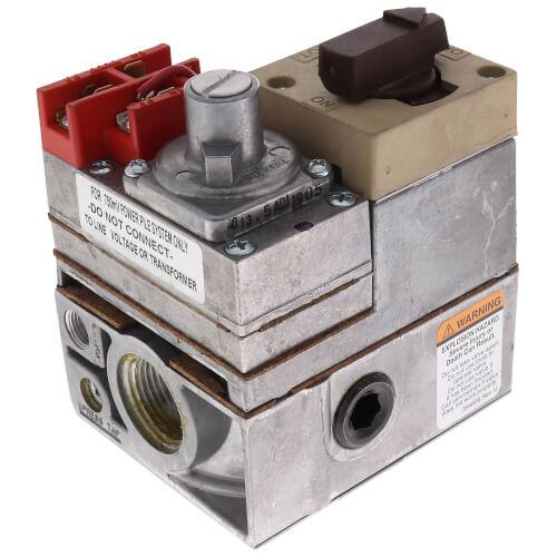 "Standard PowerPile Millivolt Combination Gas Valve - 1/2"" NPT x 3/4"" NPT Product Image"