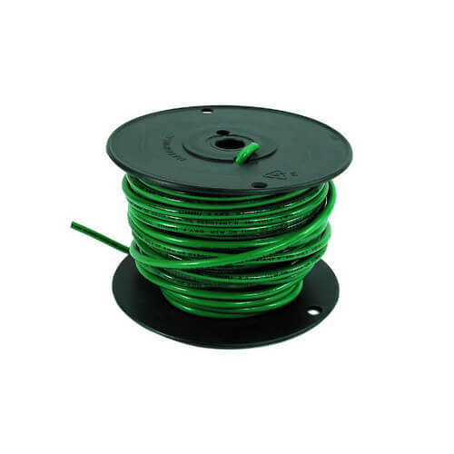 Spool of Stranded Copper Wire, 10 GA (White, 100 ft) Product Image