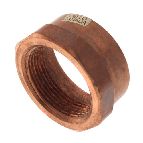 """2"""" x 1-1/2"""" Copper DWV x Female Adapter Product Image"""