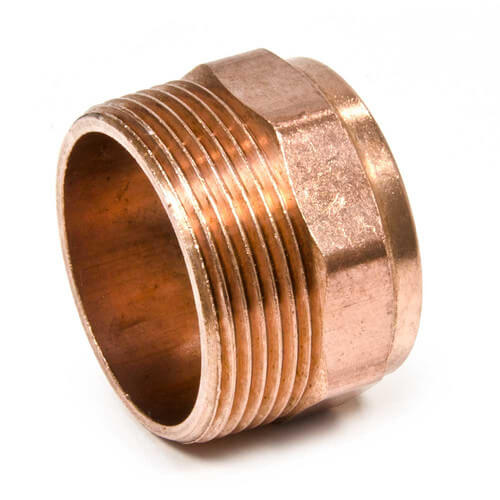 "4"" Copper DWV Male Adapter Product Image"