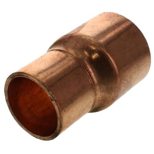 "1-1/4"" x 1"" Copper Eccentric Coupling Product Image"