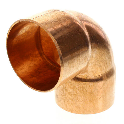 "3-1/2"" Copper 90° Elbow Product Image"
