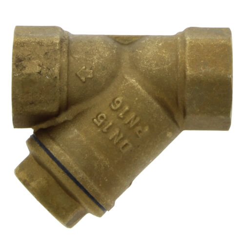 """1/2"""" Bronze Wye Strainer, Lead Free (Threaded) Product Image"""
