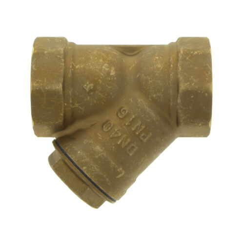 """1-1/2"""" Bronze Wye Strainer, Lead Free (Threaded) Product Image"""