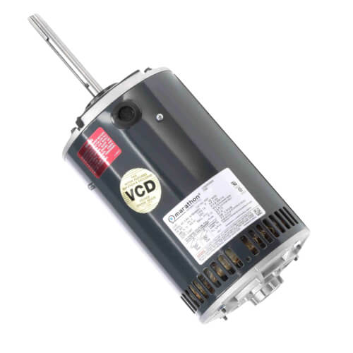 Refrigeration Fan - 1 HP, 850 RPM, 3 PH, Reversible (208-230/460V) Product Image