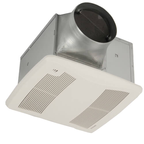 "XB110H Ultra Green Series Single-Speed Humidity Sensing Fan, 6"" Duct Product Image"