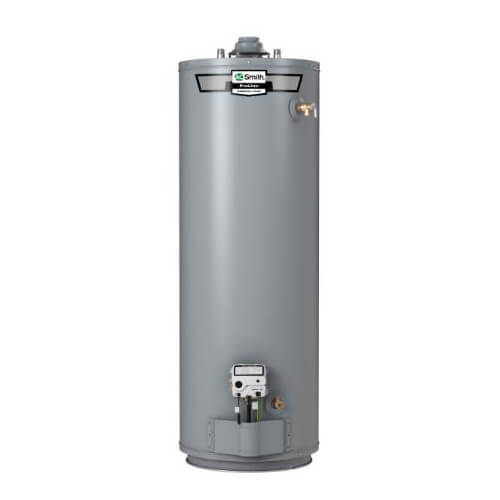 40 Gallon - 40,000 BTU ProLine Plus High Efficiency Residential Gas Water Heater - Tall Model, Nat Gas (10 Yr Warranty) Product Image