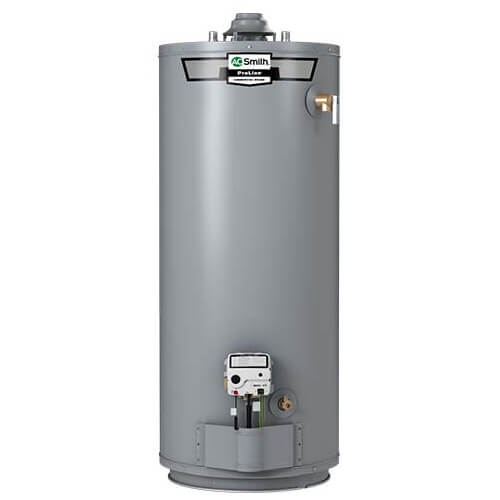 40 Gallon - 40,000 BTU ProLine Plus High Efficiency Residential Gas Water Heater - Short Model, Nat Gas (10 Yr Warranty) Product Image
