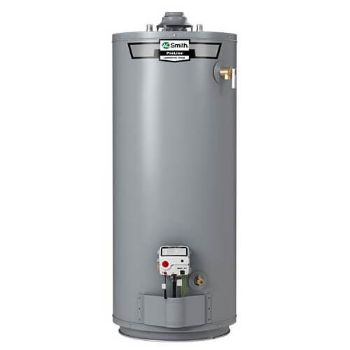 50 Gallon ProLine 10 Yr Warranty Residential Gas Water Heater - Tall Model (LP Gas) Product Image