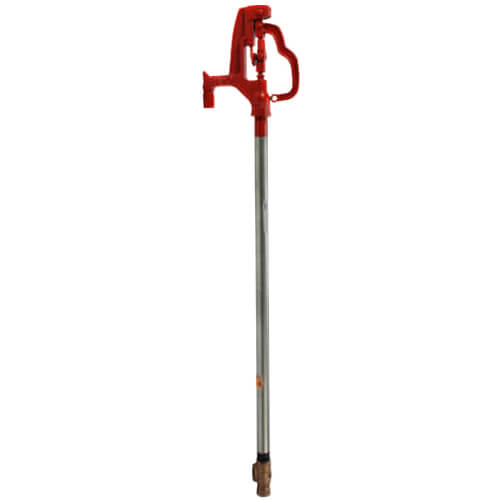 """Model-Y34, 3/4"""" FPT Non-Freeze Yard Hydrant w/ Automatic Draining (1 Ft. Burial Depth) Product Image"""