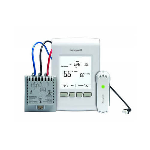 EConnect Wireless Programmable/Non-Programmable Line Volt Thermostat Kit