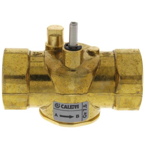 caleffi zone valve wiring diagram z200617 caleffi z200617 1  npt 2 way straight zone valve  7 5 cv   npt 2 way straight zone valve