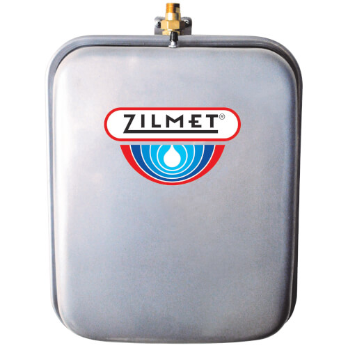 Flat Rectangular Hydronic Wall Hung Expansion Tank w/ Union Check (4.8 Gallon) Product Image