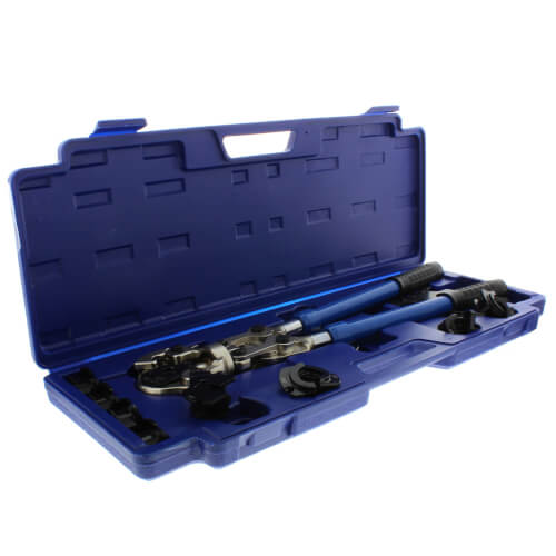 "ZoomLock Press Tool Kit (1/2"" 5/8"" 3/4"" 7/8"" Jaws) Product Image"
