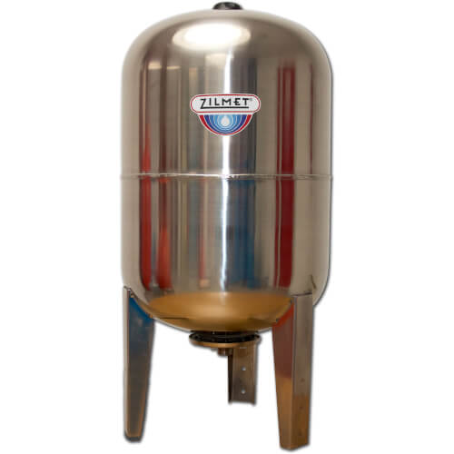 Ultra Inox Pro Vertical Stainless Steel Expansion Tank (26.4 Gal) Product Image
