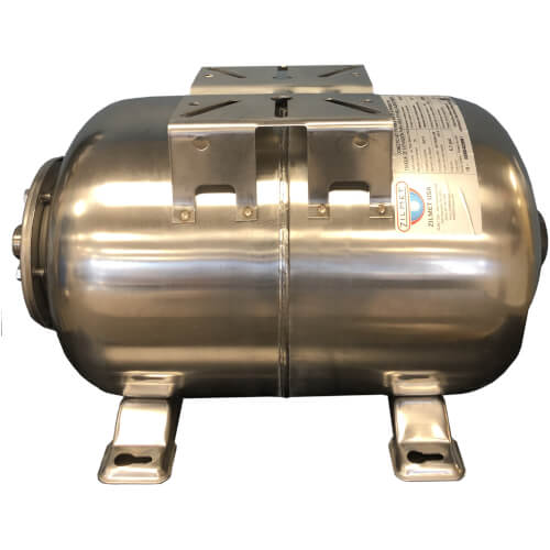 Ultra Inox Pro Horizontal Stainless Steel Expansion Tank (15.9 Gal) Product Image