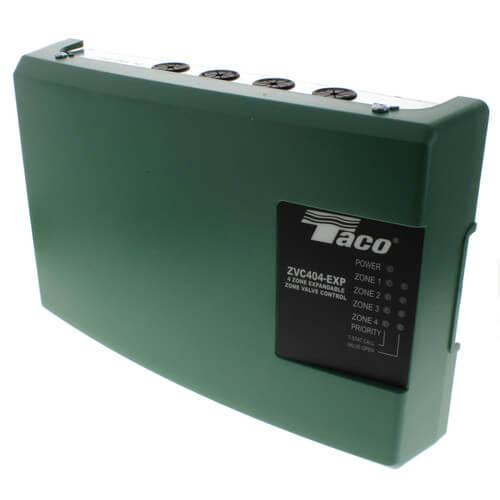 zvc404 exp 4 taco zvc404 exp 4 4 zone valve control module with rh supplyhouse com Taco Zone Control 4 Taco Zone Valve Controller Box