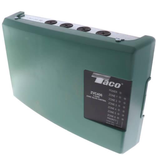ZVC406-4 - Taco ZVC406-4 - 6 Zone Valve Control Module with PrioritySupplyHouse.com