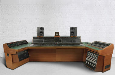 "Recording studio console used to record Led Zeppelin's ""Stairway to Heaven"""
