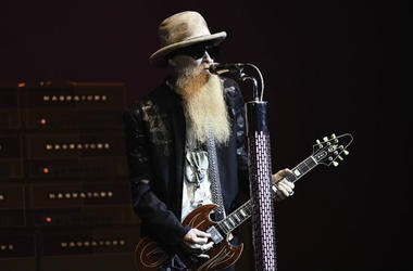ZZ Top member Billy Gibbons performs at Hard Rock Live