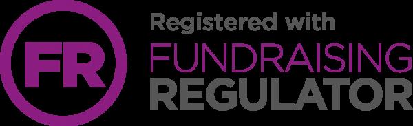 Registered with the Funraising Regulator