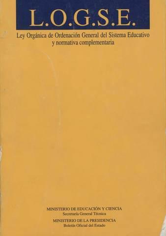 Ley Orgánica General de Ordenación del Sistema Educativo
