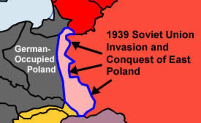 Soviet Union Invades Poland