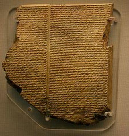Sumeria: Poema o Epopeya de Gilgamesh