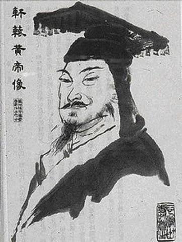 Inicio de la escritura china