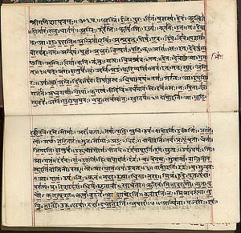 India: Escritura del Rigveda